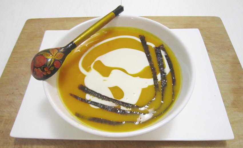 Krem juha od bundeve - naslovna