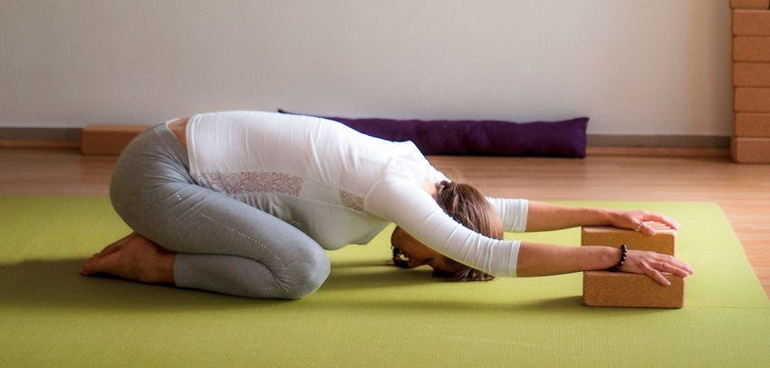 Položaj Zec- joga za trudnice