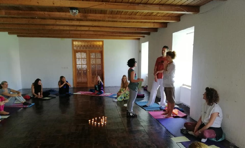 Joga Sadhana program